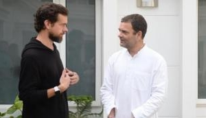 Rahul Gandhi and Twitter CEO discuss ways to tackle fake news