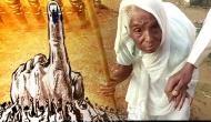 Mizoram Assembly Election 2018: Elderly Bru woman casts vote at Kanhmun