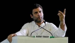 Rahul Gandhi says terrible situation of farmers; Rajnath Singh counters