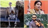 दीपवीर की शादी की फोटोज़ ना मिलने पर स्मृति ईरानी ने शेयर की कंकाल की फोटो और लिए मजे...
