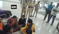 Sabarimala Temple row: Activist Trupti Desai reaches Cochin International Airport; protests underway against her visit to the temple