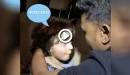 SRK's little munchkin AbRam got at Aaradhya Bachchan's birthday bash shouts on photographers for 'No Pictures'