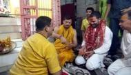 'राहुल गांधी जब मंदिर में घुटनों पर बैठे तो पुजारी को बोलना पड़ा ये मंदिर है मस्जिद नहीं'