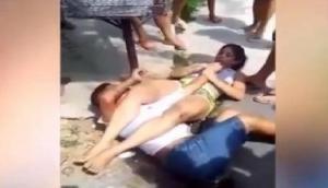 मार्शल आर्ट छात्रा से फोन छीनना चोर को पड़ा भारी, ऐसे सिखाया सबक, देखें वीडियो