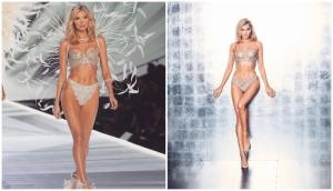 This top model add fire on ramp in diamond bikini; you will be shock to know how much this outfit cost; see pics