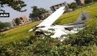 ट्रेनिंग के दौरान क्रैश हुआ विमान, अचानक आसमान से जमीन पर आ गिरा प्लेन