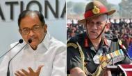 पी. चिदंबरम ने भारतीय सेना का किया अपमान, बोले- नहीं है आतंकी हाफिज सईद को पकड़ने की क्षमता