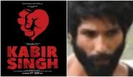 Leaked! Shahid Kapoor looks dapper sexy in the first look of his next venture 'Kabir Singh' aka remake of Arjun Reddy