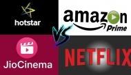 भारतीय वीडियो स्ट्रीमिंग बाजार में शुरू हो चुकी है Netflix, Amazon Prime हॉटस्टार और जियो की जंग
