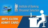 IBPS Clerk Prelims 2019 admit card: Follow these simple steps that will help you to download your hall ticket in one minute