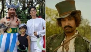In between the failure of Thugs Of Hindostan, Aamir Khan finds a way to get positive and happy!
