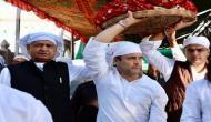 चुनाव से पहले मंदिर-मस्जिद माथा टेक रहे राहुल गांधी, अजमेर शरीफ के बाद पहुंचे  ब्रह्मा मंदिर