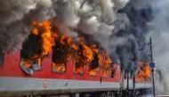एक और भयानक रेल हादसा: चलती ट्रेन में आग लगने से कालका-हावड़ा एक्सप्रेस बनी बर्निंग ट्रेन