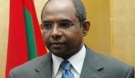 Foreign Minister of Maldives Abdulla Shahid calls on President Ram Nath Kovind