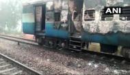 Harayana: Fire breaks out in front of Kalka Howrah Express train coach near Kurukshetra; passengers suffer breathing difficulties