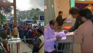 Assembly Election 2018: Low voter turnout in Madhya Pradesh with 50% until 3pm and voter turnout in Mizoram remains 58% till 3pm
