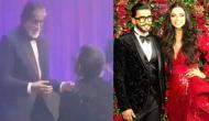 DeepVeer Reception: Big B share dance stage with groom Ranveer Singh and danced on hit song 'Jumma Chumma'; see video