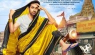 Dream Girl poster: Ayushmann Khurrana spotted in a saree on scooter in the streets of Mathura