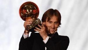 Luka Modric ends the era of Lionel Messi and Cristiano Ronaldo to win his maiden Ballon d'Or