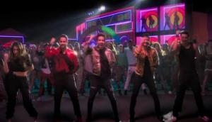 Aankh Marey song from Simmba: With Golmaal cameo, Ranveer Singh and Sara Ali Khan recreated the song with tappy moves