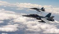 आसमान में टकराए अमेरिकी नौसेना के दो विमान, हवा में फ्यूल भरते वक्त हुआ हादसा