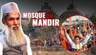 Babri Masjid demolition anniversary: Meet Mohammad Aamir, a Muslim kar sevak who was involved in the demolition of Babri Masjid