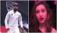 Watch: Virat Kohli dances to the tune of 'Aankh maare O Ladki' in between the Test match against Australia