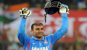 On this day in 2011, Virender Sehwag became second batsman in history of sport to knock double century in ODIs
