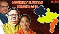 MP Election 2018 Live: 64 सीट पर बीजेपी को बढ़त जबकि 70 पर कांग्रेस, सीएम शिवराज आगे