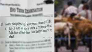 Shocking! IP University asked if cow killing by a Muslim in