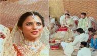 ईशा अंबानी: शादी के बंधन में बंध गए ईशा-आनंद, बॉलीवुड के सितारों से लेकर ये दिग्गज हस्तियां हुई शामिल