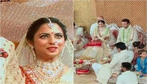 Isha Ambani and Anand Piramal Wedding: Check out the latest beautiful pictures and videos of the newly wed couple