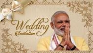 Viral Story! PM Modi's photo on his diehard fan's wedding card will amuse you! See pic