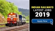 Indian Railways Recruitment 2019: Good news! New vacancies released for Clerk, JE and other posts; here's how to apply