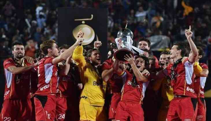 Belgium wins Men's Hockey World Cup 2018 to lift their maiden title