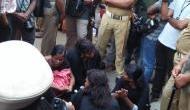 Sabarimala temple row: 11 women arrive at Sabarimala base camp, protests erupt in Kerala amid tight security