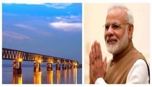 PM Modi to inaugurate India's longest road-cum-rail bridge over river Brahmaputra on this Christmas Day