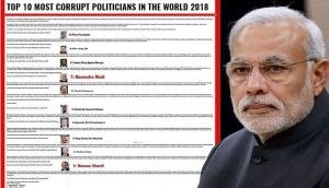'BBC survey declares Narendra Modi as 7th most corrupt Prime Minister,' post goes viral; know the truth here