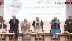 PM Modi releases commemorative Rs 100 coin in memory of former PM Atal Bihari Vajpayee, ahead of his birthday