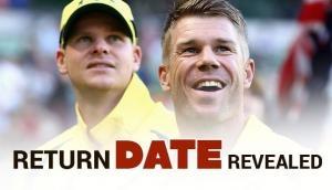 स्मिथ और वार्नर की वापसी का खुलासा, इस दिन रखेंगे इंटरनेशनल क्रिकेट में दोबारा कदम