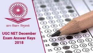 UGC NET Exam 2018: NTA to release answer keys of December Computer-Based Test this New Year