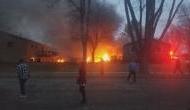 आसमान में उड़ान के दौरान आग के गोले में बदल गया विमान, 'परोपकारी' बुजुर्ग दंपति की मौत
