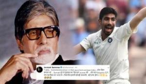 'Kangaroo Tu na panga mat lia kar Bharat se,' Amitabh Bachchan's remark after Jasprit Bumrah demolished the opposition