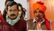 Video: जैसे ही केजरीवाल ने बोलना शुरू किया खांसने लगे BJP कार्यकर्ता, फिर गडकरी ने किया ये काम