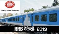 RRB 2019: रेल डिब्बा कारखाना में निकली भर्तियां, 10वीं पास करें अप्लाई