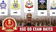 SSC 2019: जीडी कांस्टेबल, CAPF के लिए परीक्षा की तारीख घोषित, जानें एग्जाम पैटर्न और ये जरुरी बातें
