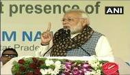 कांग्रेस ने कर्नाटक में लाखों किसानों की कर्जमाफी वादा किया था, माफ हुआ सिर्फ 800 का : PM मोदी