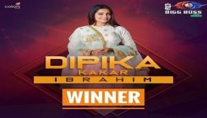 Bigg Boss 12 Winner: TV actress Dipika Kakar wins Bigg Boss 12 trophy, beats Sreesanth