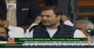 संसद में राफेल मुद्दे पर सरकार और अनिल अंबानी पर बरसे राहुल गांधी, कहा- कमरे में छुपे हैं PM मोदी