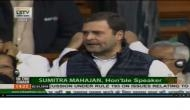 Rahul Gandhi attacks Manohar Parrikar in Lok Sabha, says 'has secrets of Rafale deal under his bed'; tries to play an audio tape
